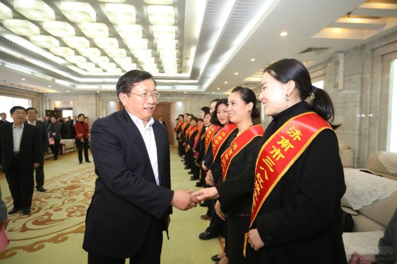 王忠林:激扬巾帼之志,争当无愧于新时代的泉城新女性